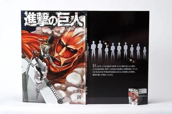 Ataque a los Titanes es lanzado en Japón a tamaño titán.