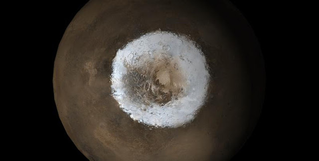 Mystery at Mars pole explained
