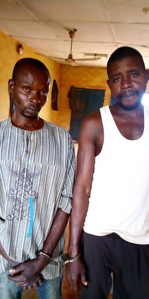 Police parades 2 men for raping mad woman in anambra