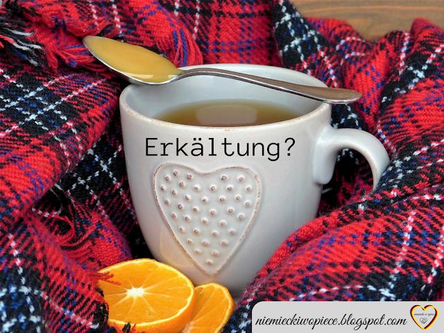 Erkältung - trochę przydatnego słownictwa, które znajdziesz na ulotkach i opakowaniach lekarstw