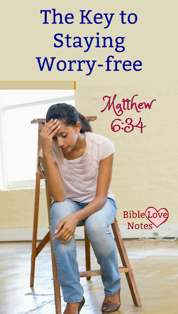 Scripture gives us an incredible cure for worry. This 1-minute devotion explains. #Worry