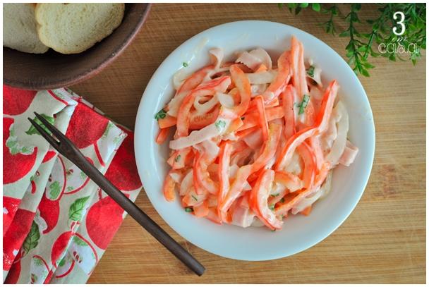 salada de pimentão com maionese