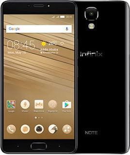 Infinix Note 5 Specifications, Full Features and Price