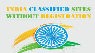 Free Classified Sites in India Without Registration