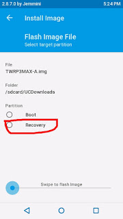 Cara Downgrade Atau Upgrade TWRP Andromax Tanpa PC