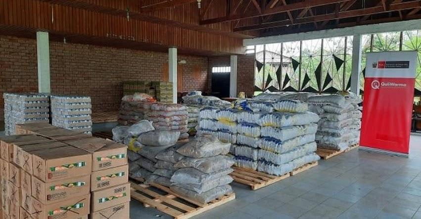 QALI WARMA: Programa social entregó más de 11 toneladas de alimentos a Municipalidad Distrital de Sepahua en Ucayali - www.qaliwarma.gob.pe