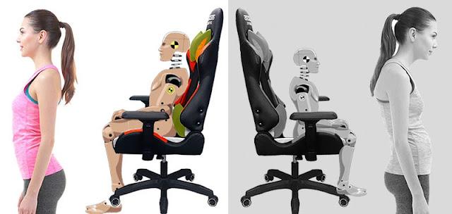 Chọn ghế phù hợp với dáng người