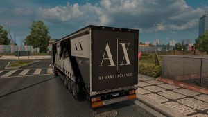 Armani Exchange trailer mod