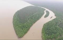 "Keren !!! Pulau ""Baru Mirip"" Raja Ampat dan kawasan wisata sungai Mekong vietnam ada di Banyuasin"