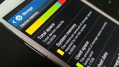 Memori Smartphone Penuh