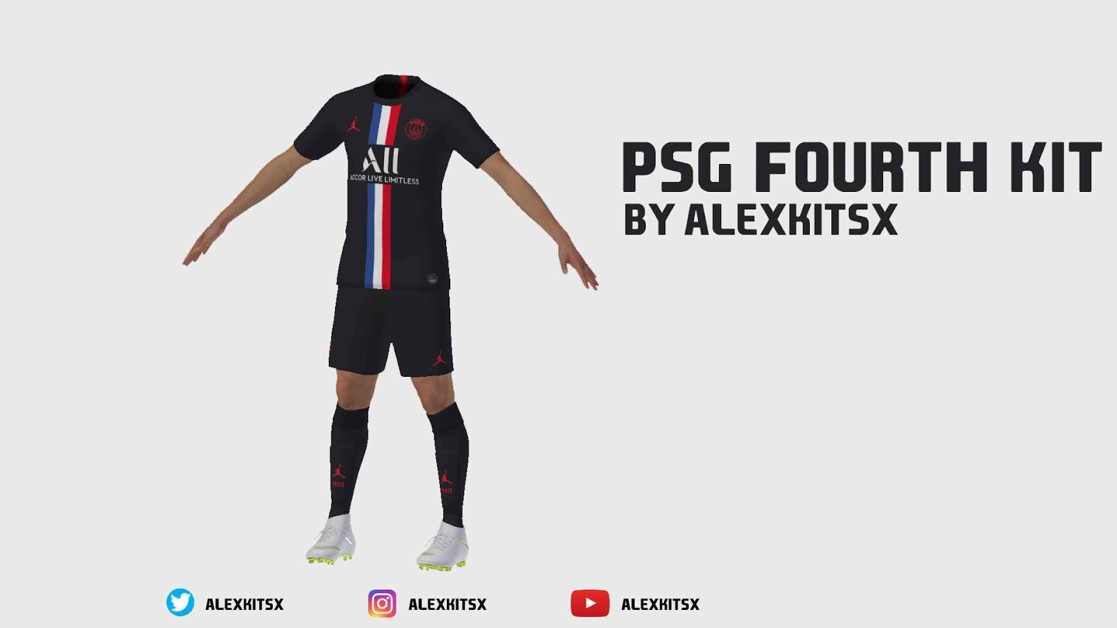 Ultigamerz Pes 2020 Psg 2019 20 Fourth Kit