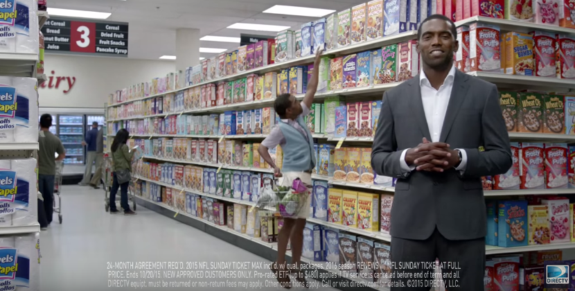 New Petite Randy Moss Commercial for DIRECTV NFL SUNDAY TICKET