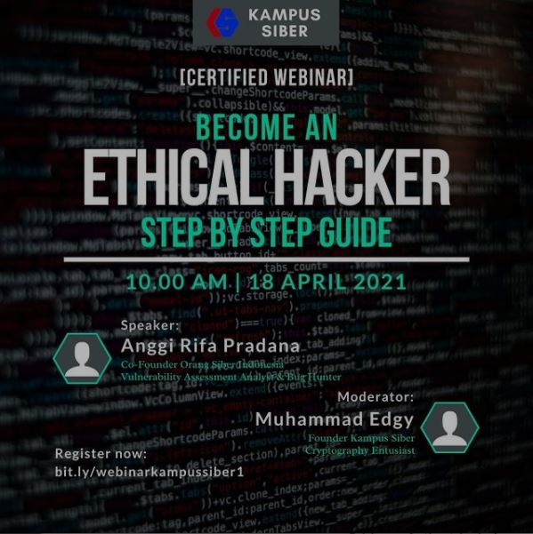 Webinar - Become an Ethical Hacker, Step by Step Guide