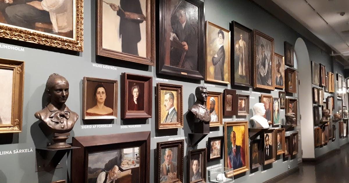 Taidenäyttelyt Helsinki