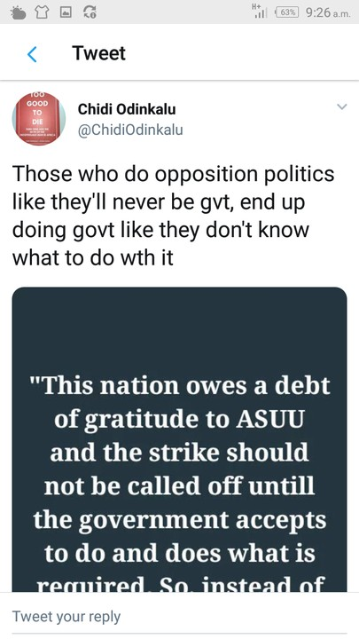 (Photos) ASUU strike: See what Minister of Education, Adamu Adamu said in 2013