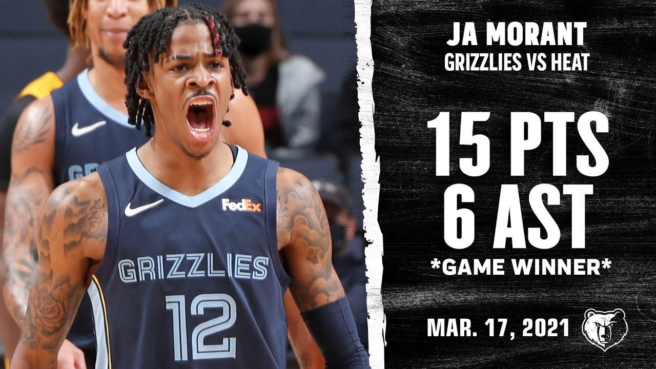 Ja Morant 15pts 6ast vs MIA | March 17, 2021 | 2020-21 NBA Season