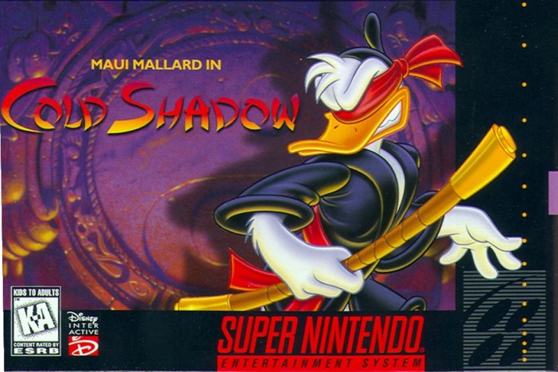 Disney's Maui Mallard in Cold Shadow Starring Donald Duck