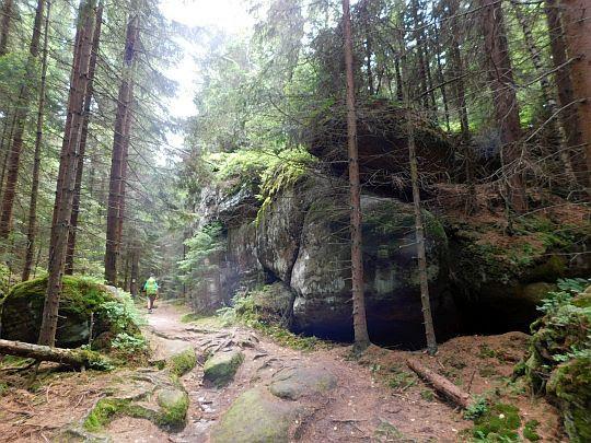 Góry Stołowe. Skalne Grzyby.