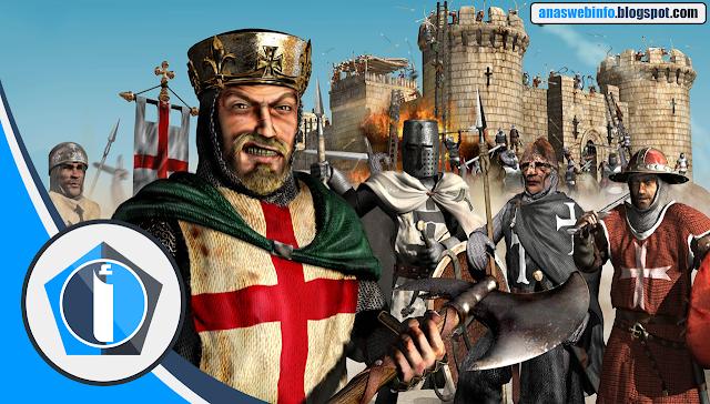 تحميل لعبة صلاح الدين/stronghold crusader extreme/نسخة كاملة بحجم صغير جدا