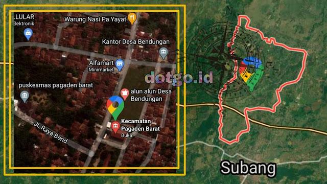 Kecamatan Pagaden Barat, Kode Pos dan Daftar Desa di Kecamatan Pagaden Barat Kabupaten Subang Jawa Barat
