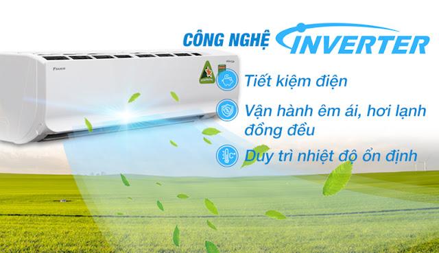 Điều hòa Daikin Inverter FTKC71UAVMV