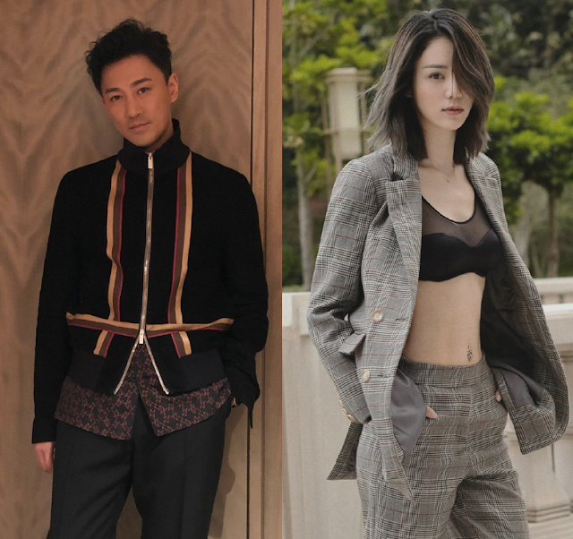 Raymond Lam and girlfriend Carina Zhang