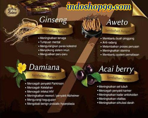 bahan obat kuat herbal, kandung obat herbal soloco, bahan herbal permen soloco