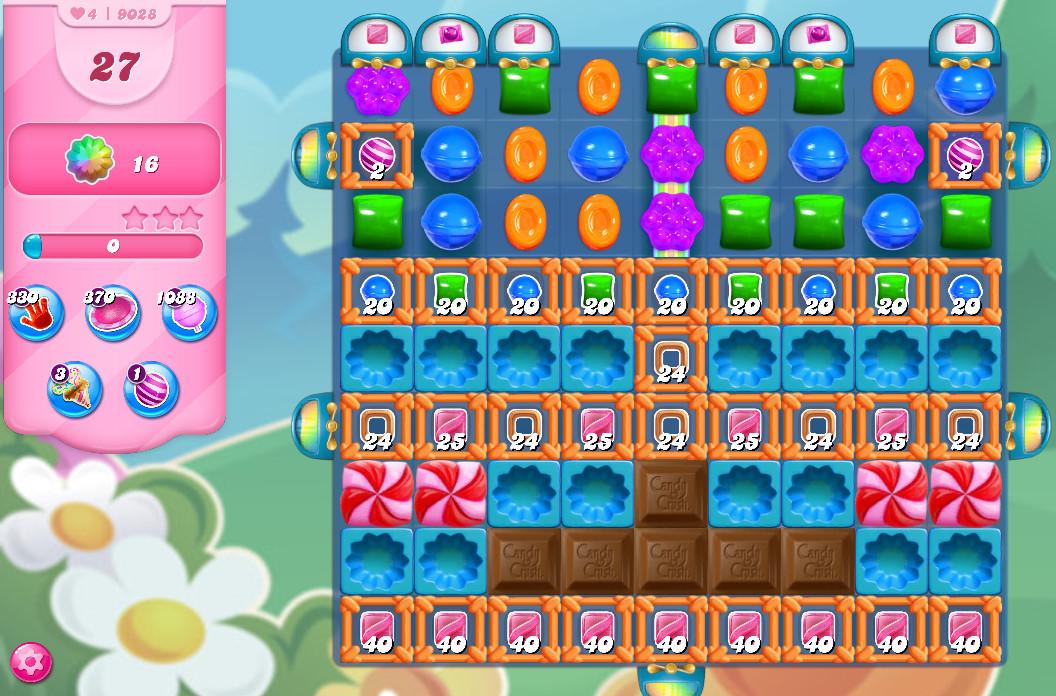 Candy Crush Saga level 9028