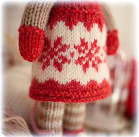 ♡ Magical Snowflake Pinafore....
