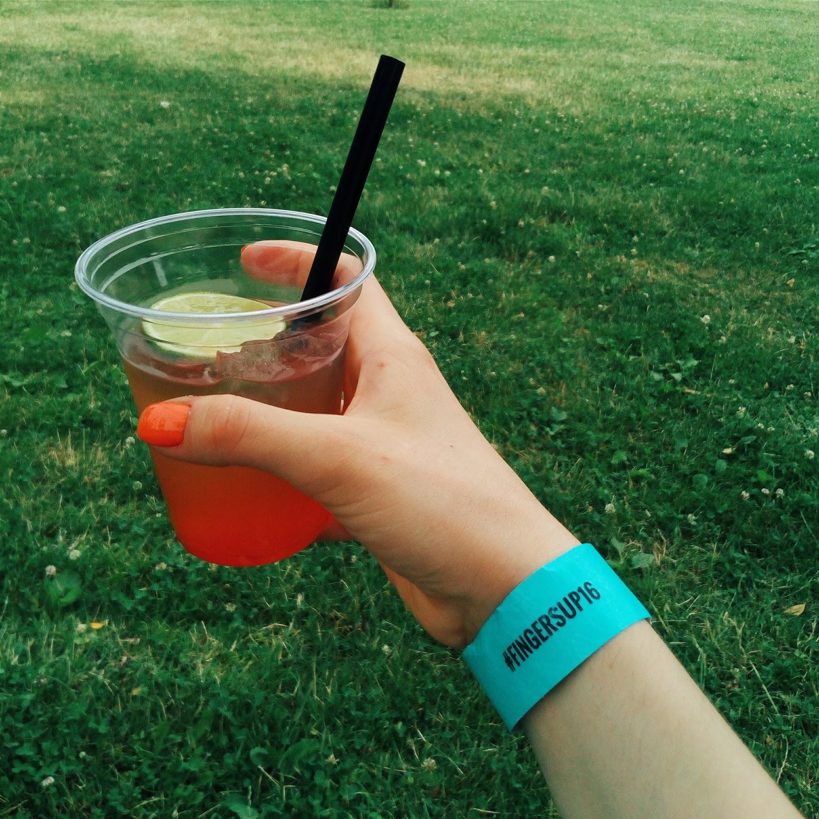 Limonáda na festivalu Fingers Up v Mohelnici