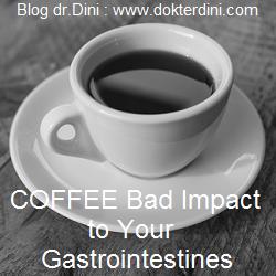 dampak kopi pada pencernaan