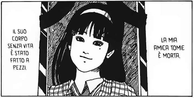 Recensione Tomie Manga Horror