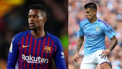 نادى برشلونة الإسبانى يسعى لعقد صفقة تبادلية مع مانشستر سيتى الإنجليزى خلال موسم الانتقالات