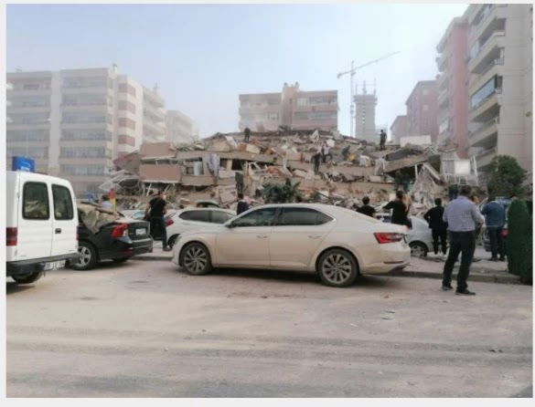 Earthquake shakes buildings in Greece, Turkey
