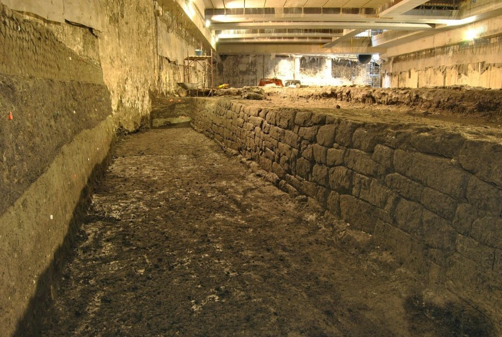 Metro dig uncovers largest reservoir of Imperial Rome