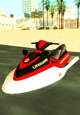 Free Download Seashark Lifeguard [Add-on] Mod for GTA San Andreas.