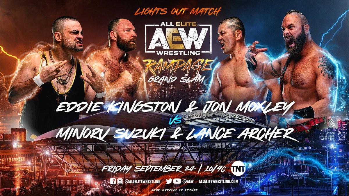 Cobertura: AEW Rampage Grand Slam (24/09/2021) – Vale tudo!