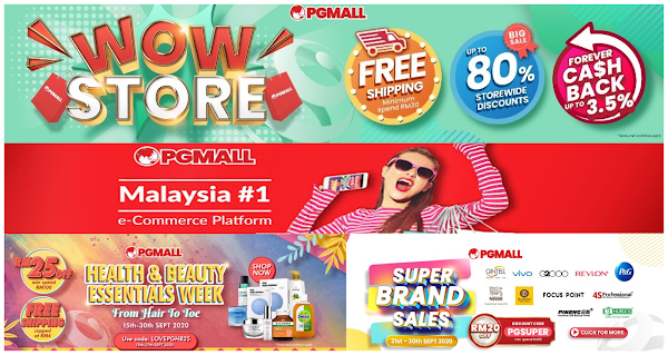 This September Online Shopping offer from PGMall!!