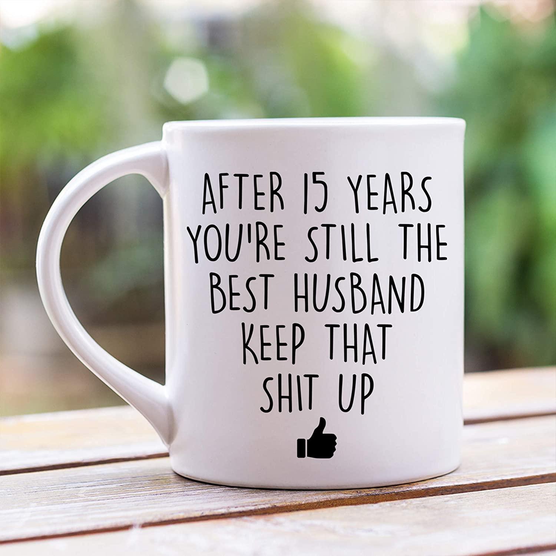 Anniversary Coffee Mug Gift For Him