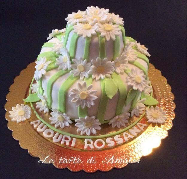Favoloso Le torte di Amalia: Auguri Rossana XA04