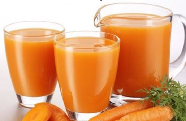 What are the benefits of carrot juice for muscles?