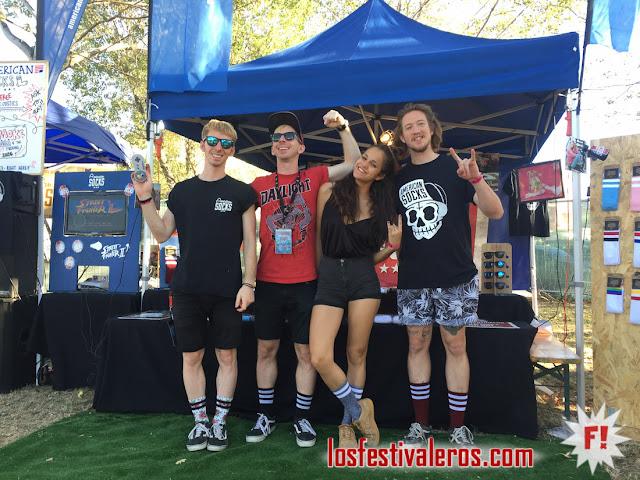 American Socks en Bay Fest