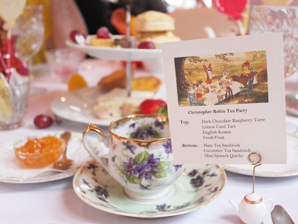 Christopher Robin Tea Party