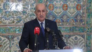رئيس الجزائر يدعو إلى عودة سوريا للجامعة العربية