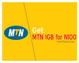 Get MTN 1GB for N100