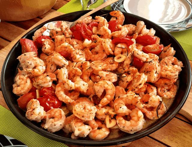 وصفة روبيان محمص / Roasted Shrimp Recipe