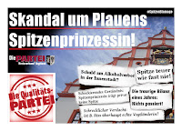 Skandal um Plauens Spitzenprinzessin! Wo ist T.Brockmann? #SpitzenBlamage