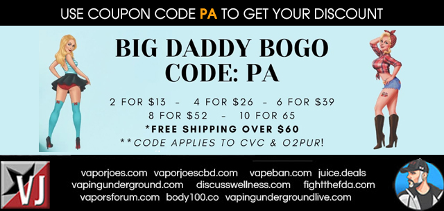 BIG DADDY BOGO SALE!