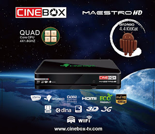 RECOVERY CINEBOX MAESTRO HD