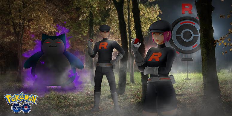 Pokémon Sombroso Equipe GO Rocket